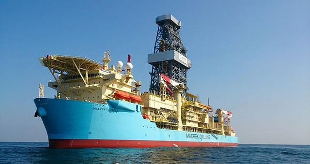 maersk voyager drillship