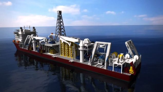 Marine Assets Corporation (MAC) mining vessel