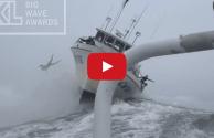 Video: Big Wave Surfer Jumps Ship, Gets HUGE Air