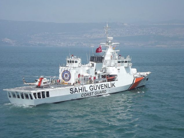File photo courtesy Turkish Coast Guard