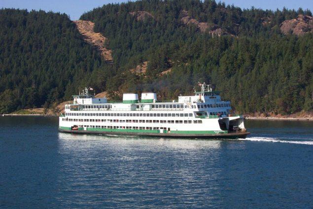The Washington State Ferry 'Kaleetan'. Photo: Creative Commons