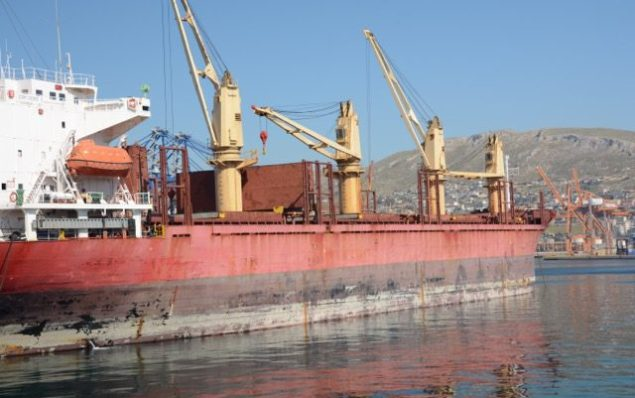 dry bulk carrier ship shipping