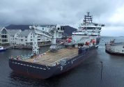 """Olympic Bibby"" Subsea IRM Vessel Christened at Kleven Shipyard"