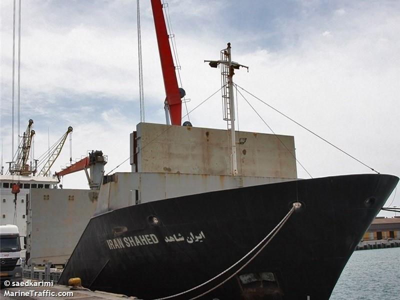 Iran Shahed cargo ship (c) MarineTraffic.com/