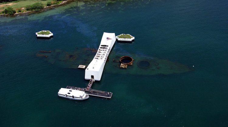 File photo of USS Arizona Memorial in Hawaii