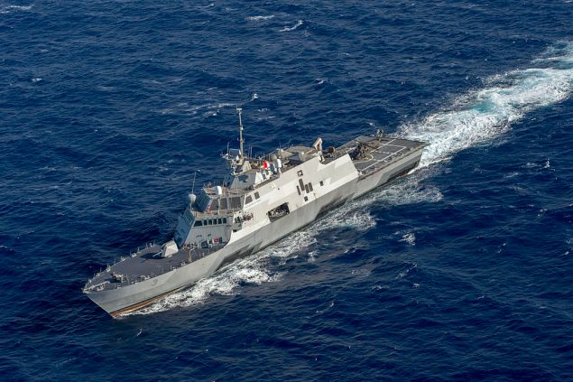 USS Fort Worth (LCS-3) file photo: Creative Commons