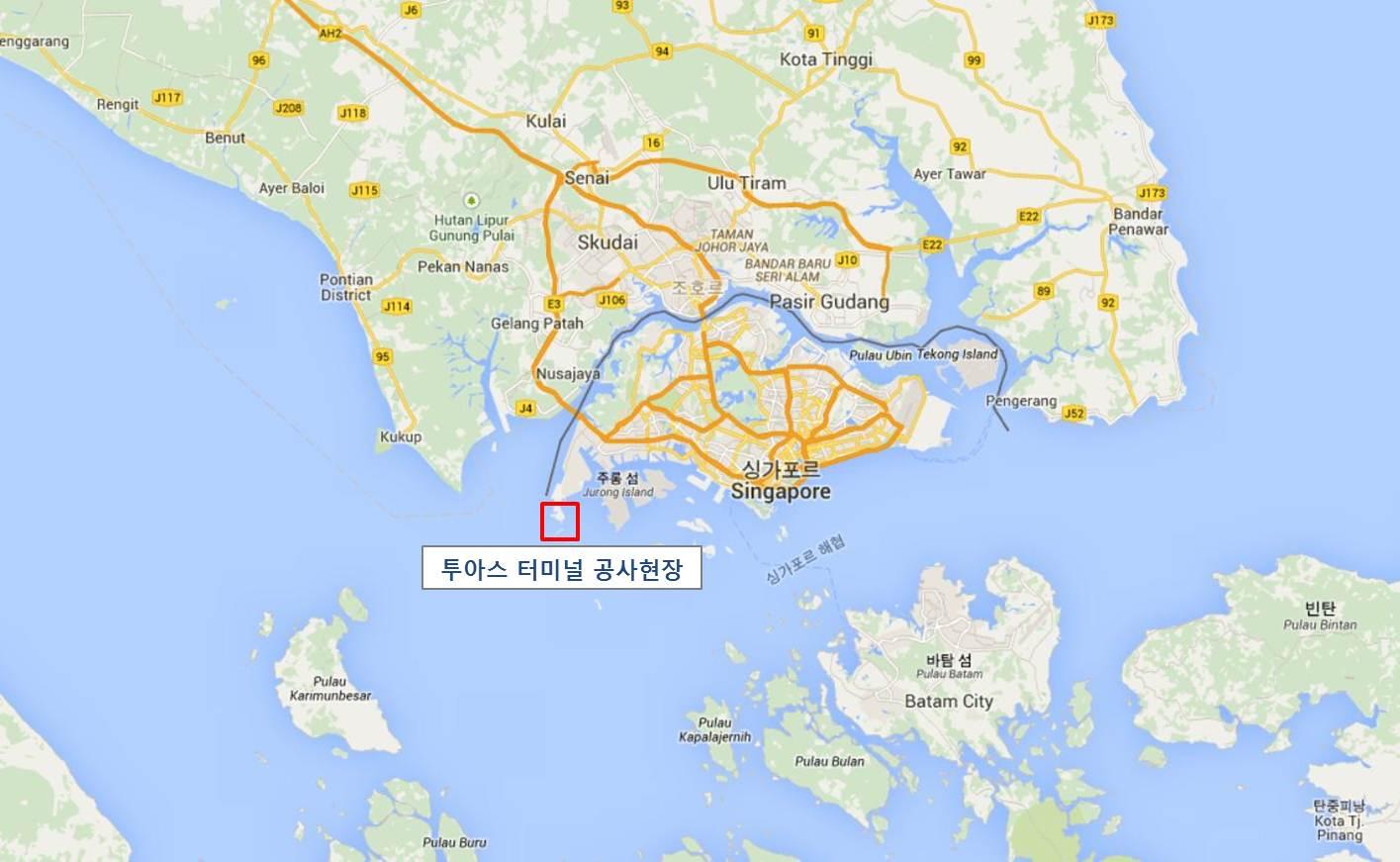 Tuas Park area map. - Image - Pharmaceutical Technology