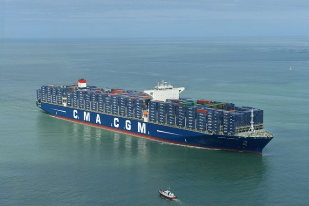 Photo: aérienne/CMA CGM Group