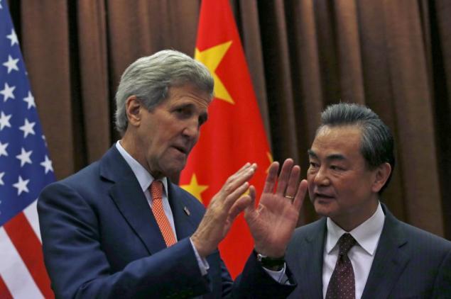 John Kerry in China
