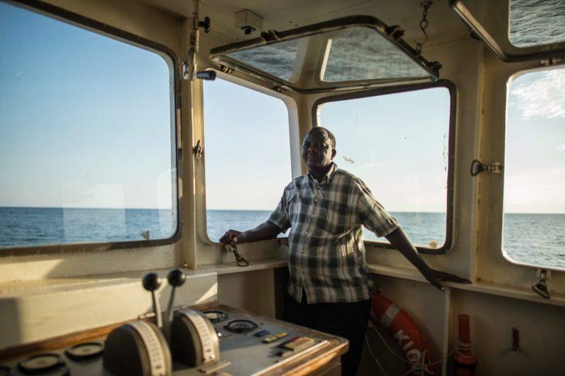 MV Liemba, Captain Titus Benjamin