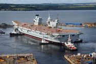 U.K.'s Largest Aircraft Carrier Fighting to Meet Budget