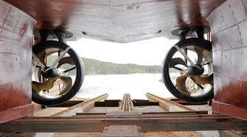 gunnerus rolls-royce permanent magnet azimuth thruster