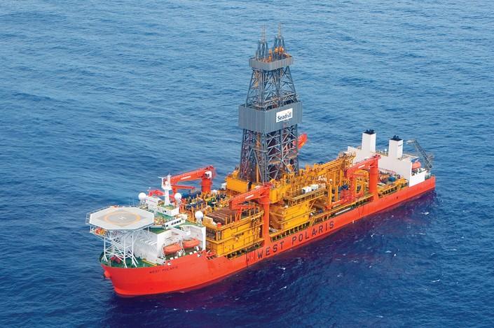 West Polaris drillship. Photo: Seadrill