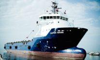 The PSV Caspian Server. Photo: Topaz Energy and Marine