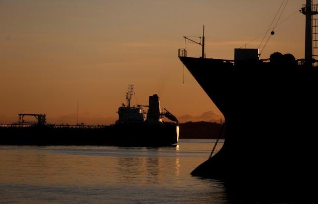 Oil tankers In Rio