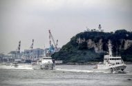 Tensions Rise As Taiwan Coast Guard Launches New Ships