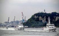 Taiwan Coast Guard patrol ships