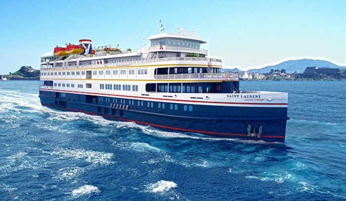 Saint Laurent. Image: Great Lakes Cruise Company