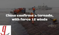 Cruise Ship Capsize, China Confirms Force 12 Tornado