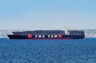 Mega-containership grounded off Southampton