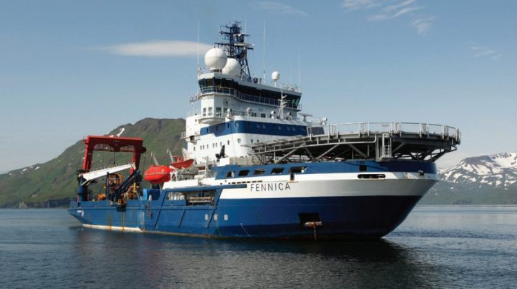 MSV Fennica. Photo: Shell Alaska