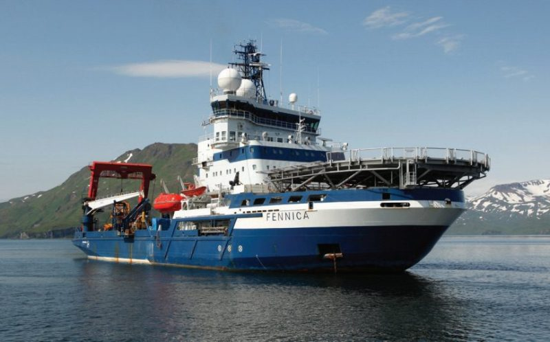 MSV Fennica. Photo: Shell Alaska