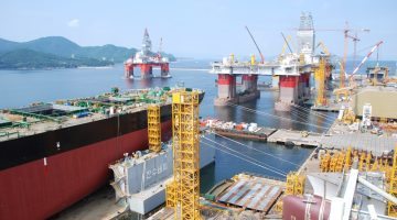 DSME Shipyard file photo: Shutterstock/Christopher Poe