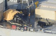Seven Injured After U.S. Army Helicopter Crashes on Deck of MSC Cargo Ship – PHOTOS and VIDEO