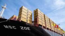 World's Biggest Containership MSC ZOE Christened in Hamburg