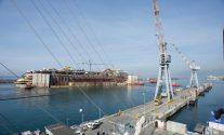 Costa Concordia Dismantling Update – Demolition Beginning on Upper Decks