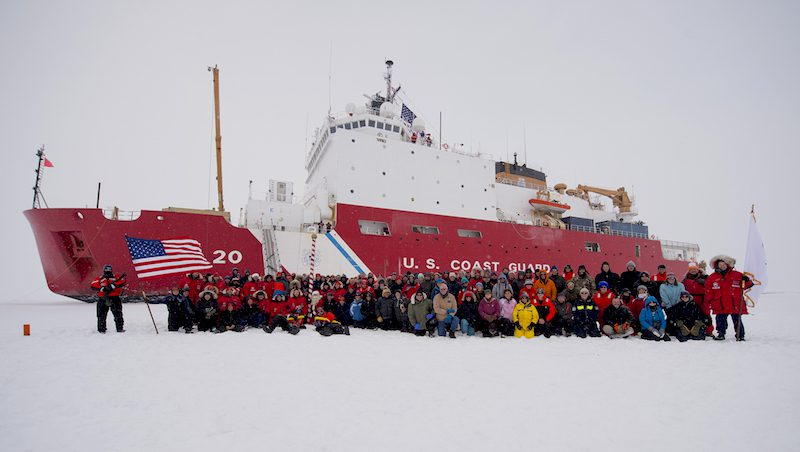 Cutter crew reaches North Pole