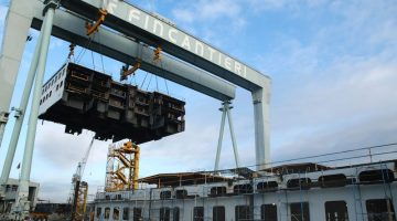 Fincantieri Said Close to Agreement for China Ships Contract