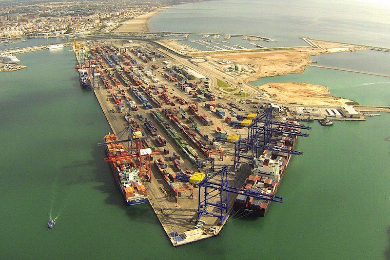 TCV Valencia Spain container terminal. Photo: APM Terminals