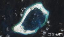 China Says Island Building Protects Distant Reefs