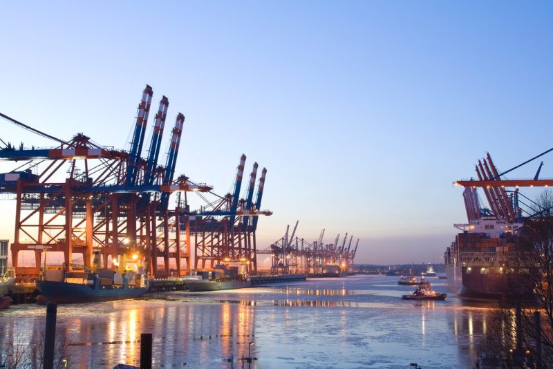 Port of Hamburg. File photo: Shutterstock/Inga Nielsen