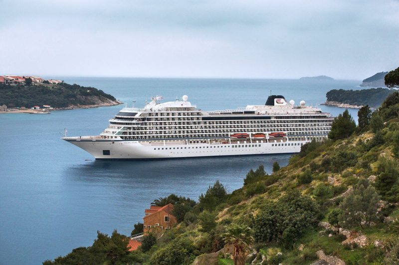 Viking Star, pictured here, was voted the Best New Cruise Ship of 2015 by Cruise Critic. Photo: Viking Ocean Cruises
