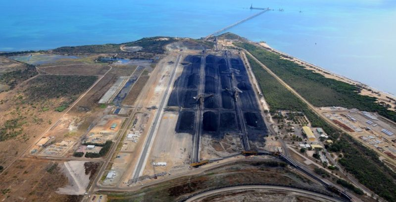 Abbott Point Coal Terminal. Photo: Aurecon Group