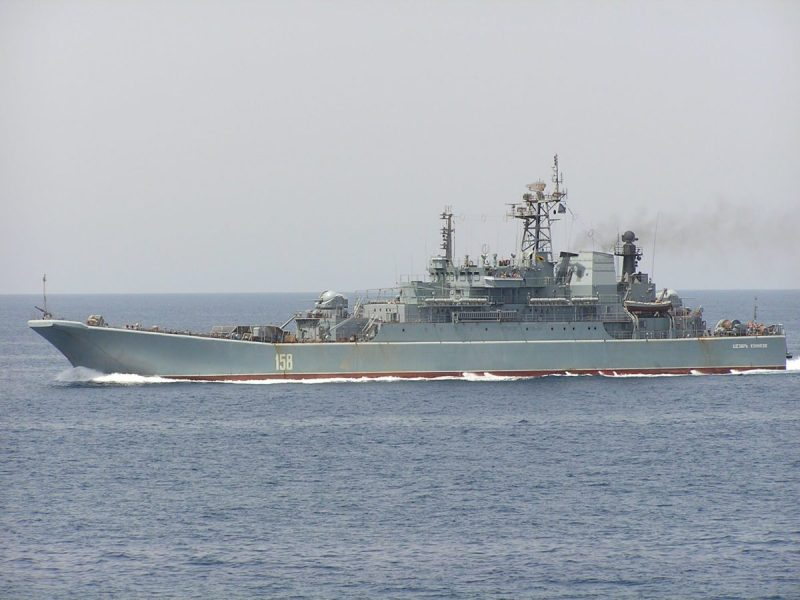 Russian ship Caesar Kunikov. File photo: Creative Commons