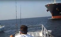Intense Video: Tanker Misses Collision with Stalled Boat by Mere Feet