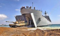SPOTD: Amphibious Battle Tank Transport Ship Sungoonbang