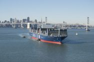 Ship Photos of the Day – First 'Megaship' Sails Into San Francisco Bay