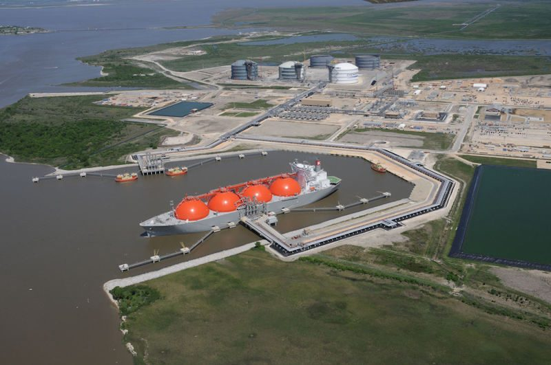Cheniere Energy's Sabine Pass LNG Terminal. Photo credit: HDR, Inc.