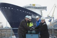 Meyer Turku Floats 'Mein Schiff 5' Cruise Ship