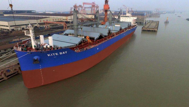 MV Kite Bay. Photo: Pioneer Marine