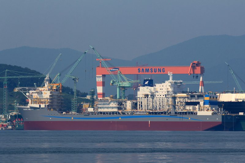 Samsung Heavy Industries. Photo: Lappino