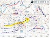 Unusual North Pacific Storm Tracking Through Main Shipping Lanes – UPDATE