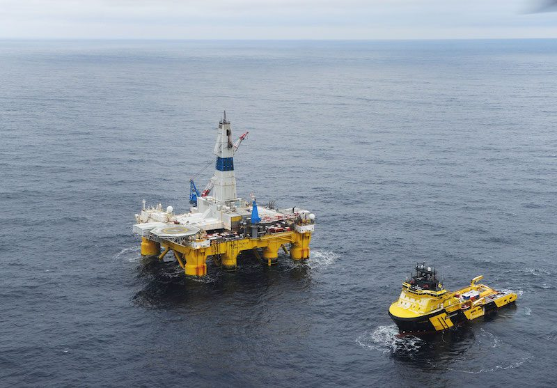 Transocean's Polar Pioneer was used to Photo credit: Photo: Harald Pettersen/Statoil