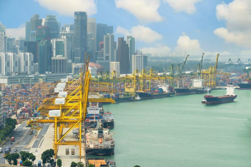 Port of Singapore. Photo: Shutterstock/Prasit Rodphan