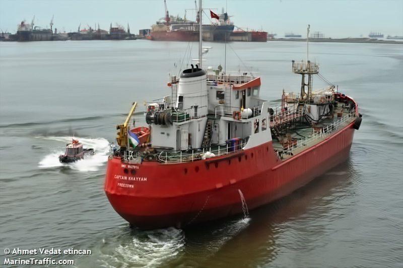 Captain Khayyam Tanker