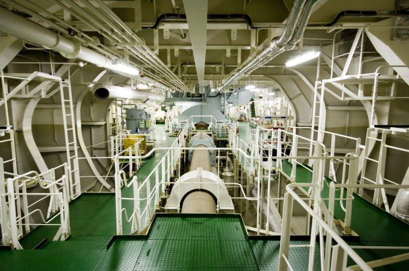 Shat Alley Ship Engine Room